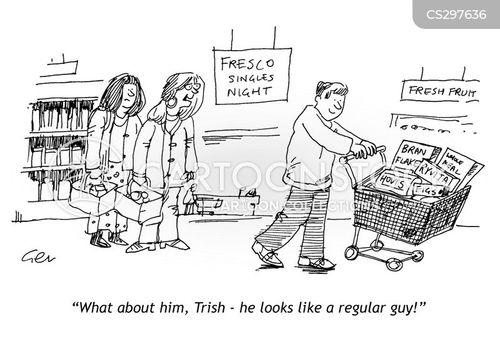 regular guy cartoon