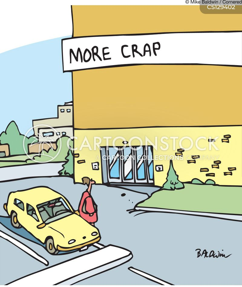 big box stores cartoon