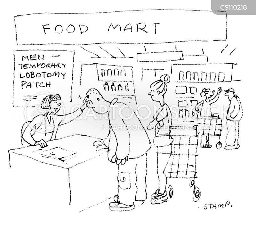 lobotomy cartoon