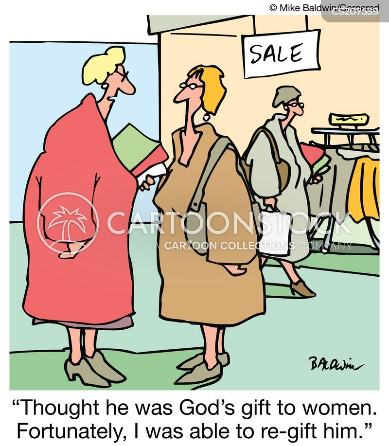unwanted gift cartoon