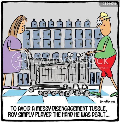 disengagement cartoon