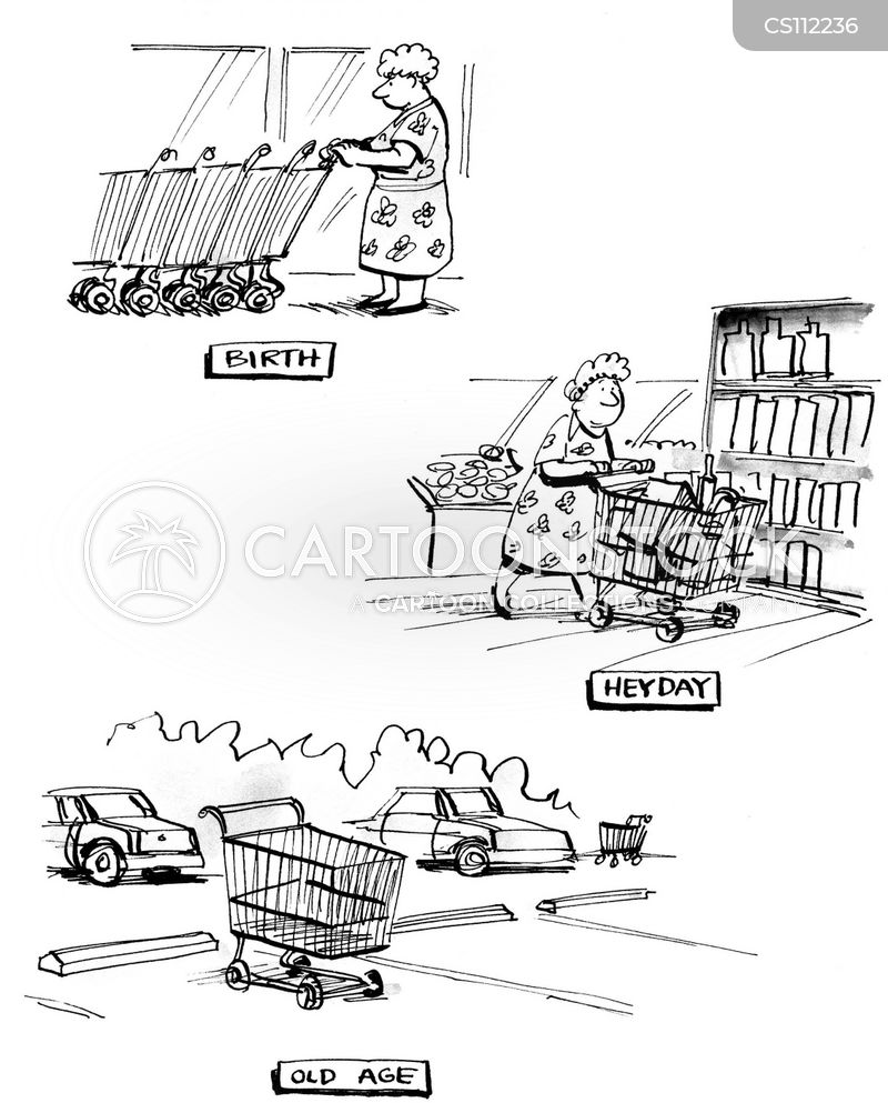 new products cartoon