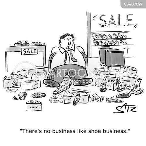 shoe obsessions cartoon
