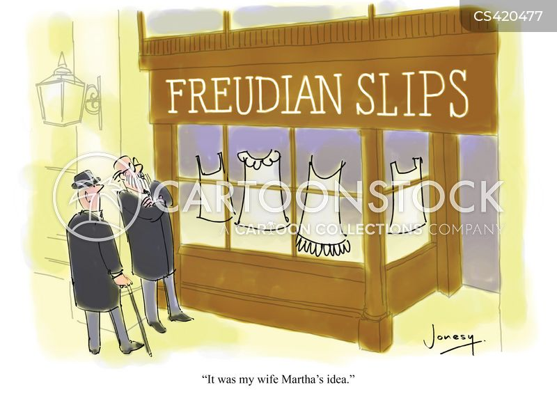 slips cartoon
