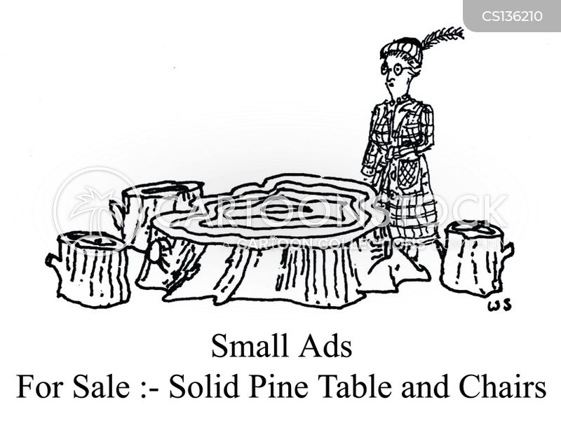 small ads cartoon