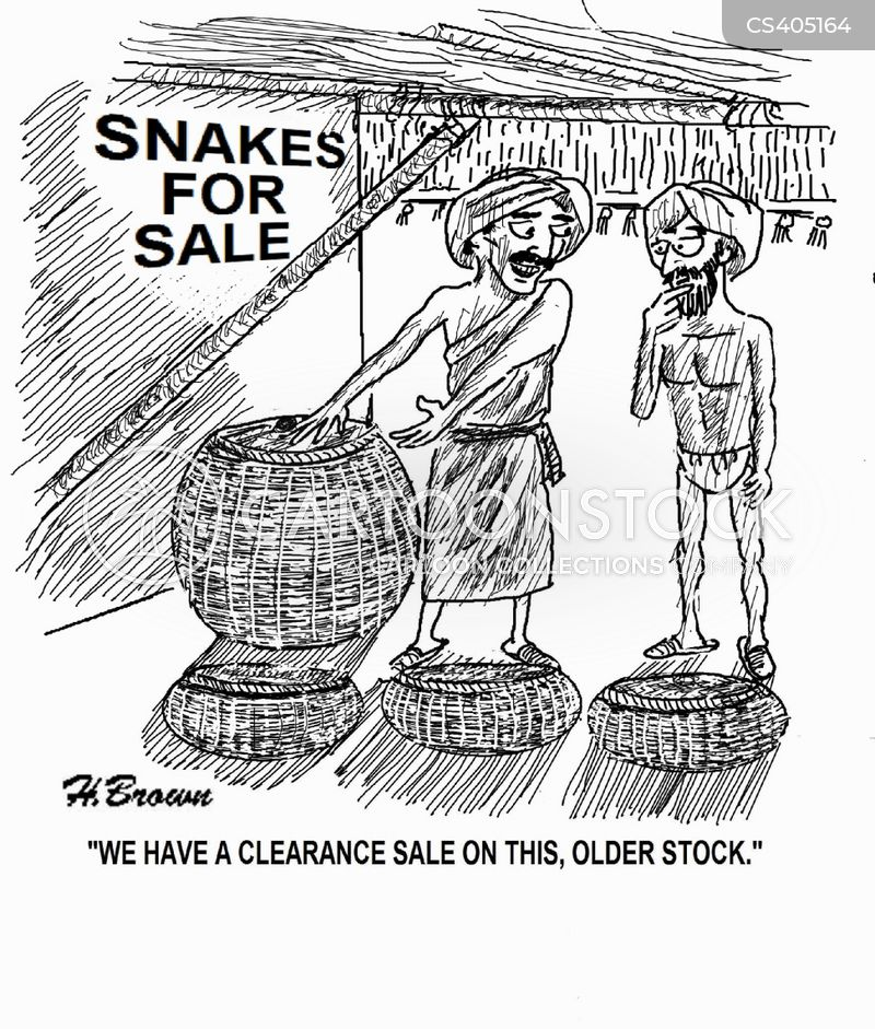 clearance sale cartoon