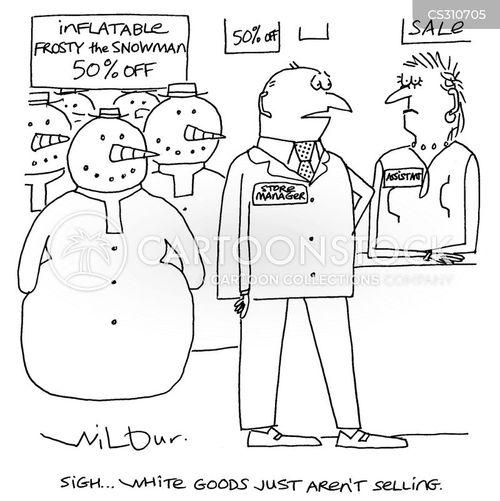 whites cartoon
