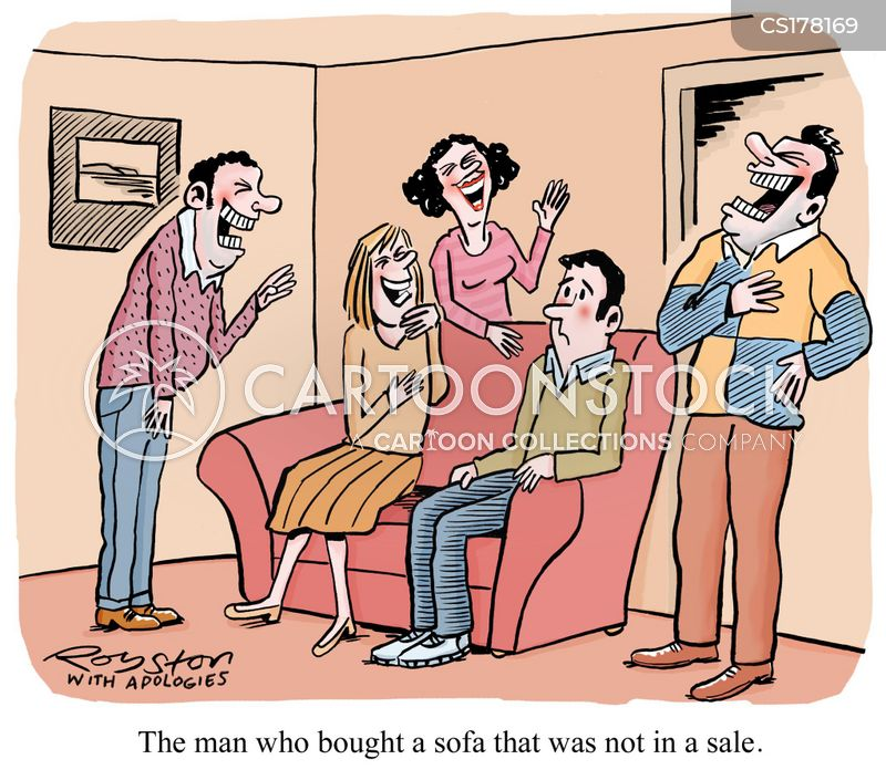 Funny Couches sofa cartoons and comics - funny pictures from cartoonstock