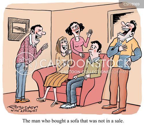 new house cartoon