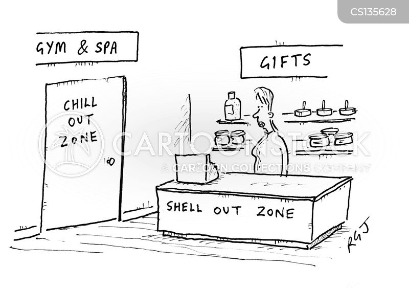 chill out zone cartoon