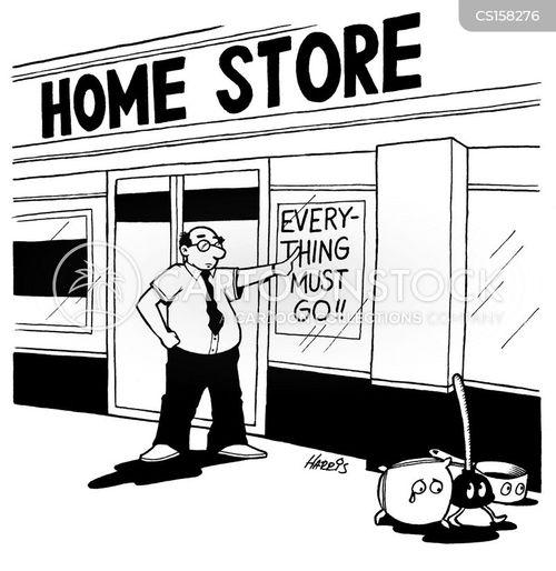 kitchen stores cartoon