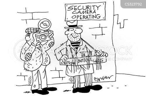 street peddlers cartoon