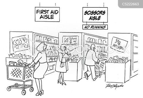first aid kits cartoon