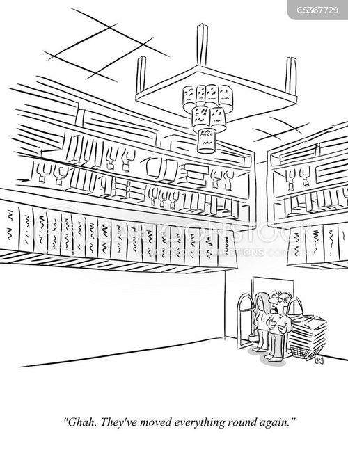 shop display cartoon