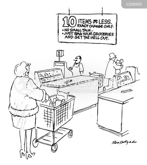 10 items cartoon