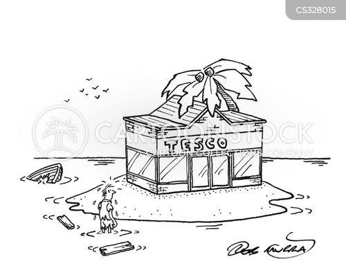 superstore cartoon