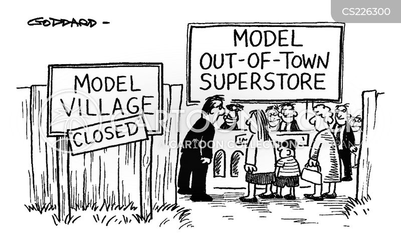 villages cartoon