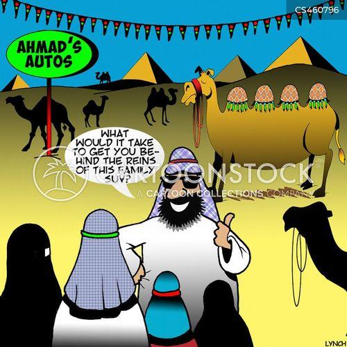 arab cartoon