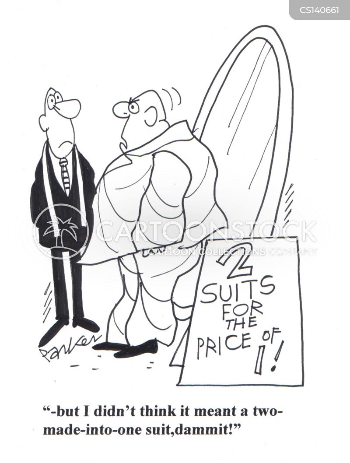on offer cartoon