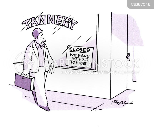 tannery cartoon