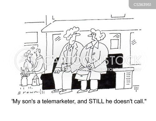 telemarket cartoon