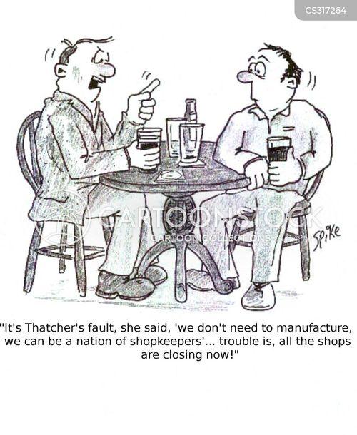 thatcher cartoon