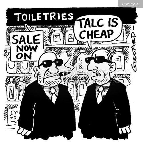 toiletries cartoon