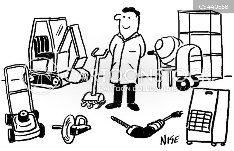 building supply cartoon