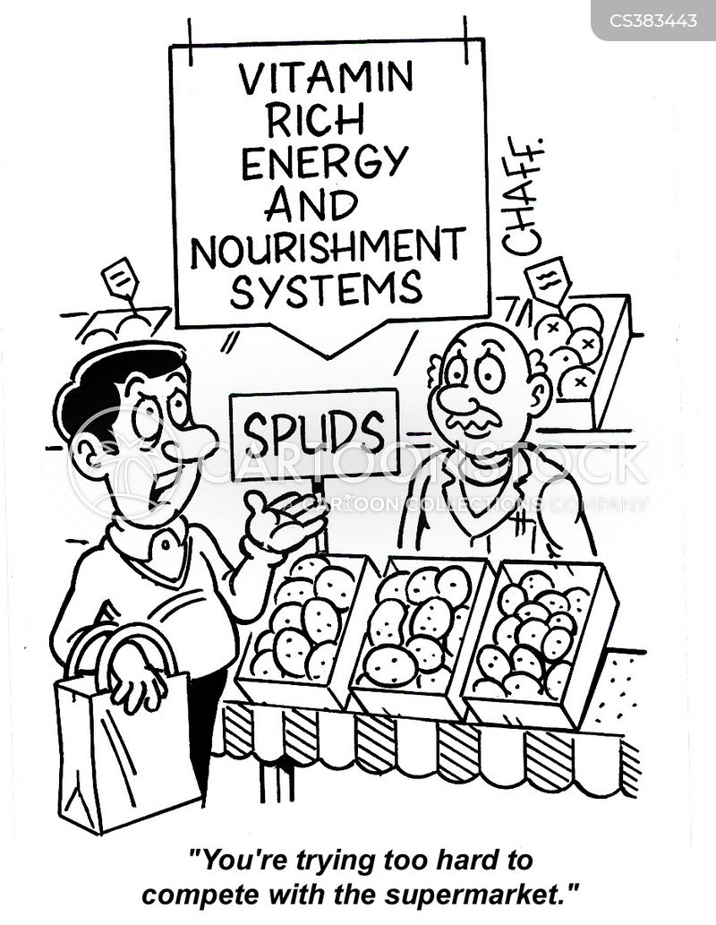 nourishing cartoon