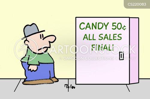 final sales cartoon