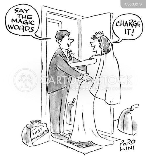 magic words cartoon