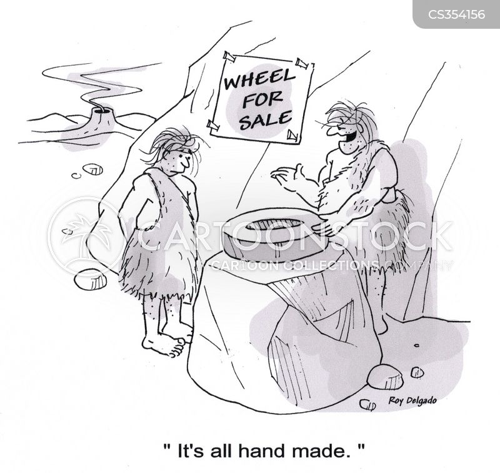 hand made cartoon