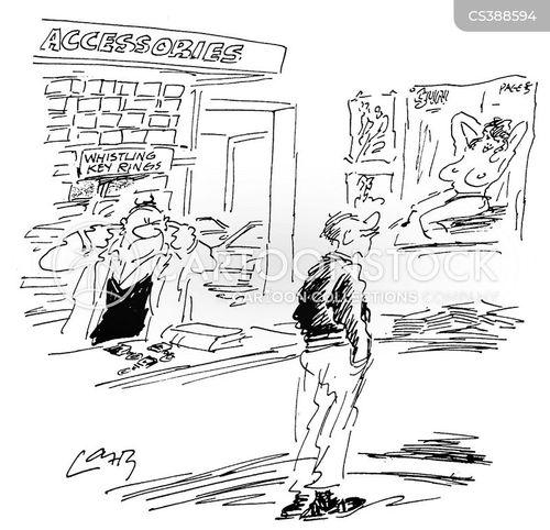 wolf-whistle cartoon