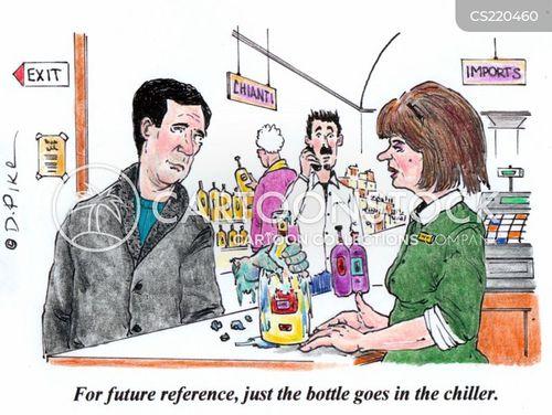 chiller cartoon