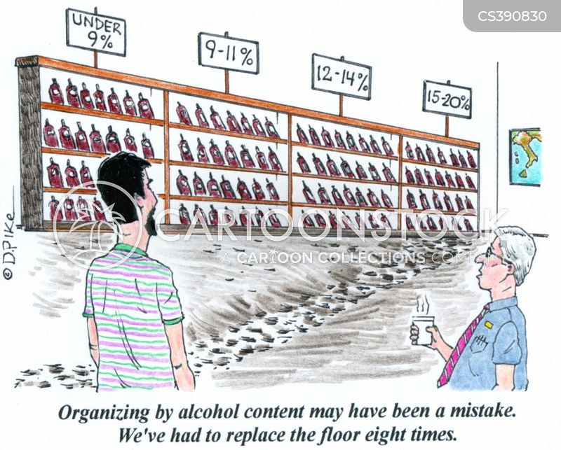 shelving cartoon