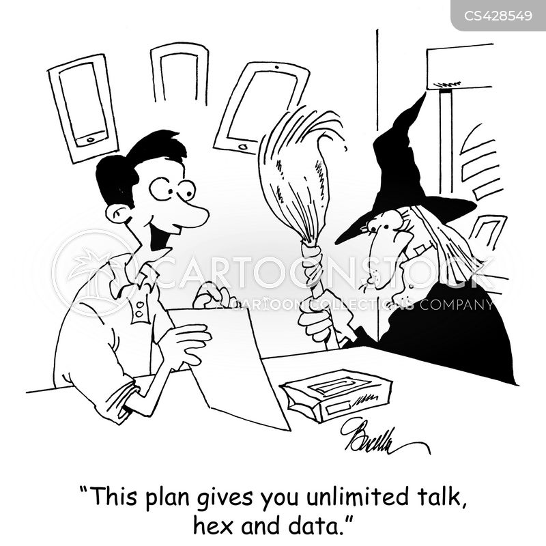 data plan cartoon
