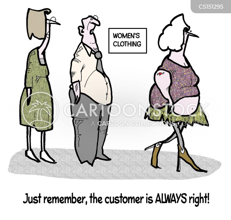 womens clothing cartoon