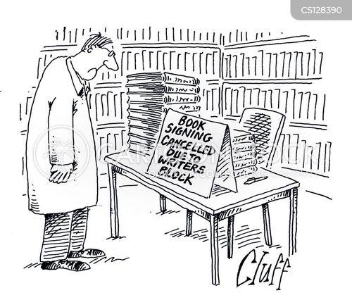 famous writer cartoon