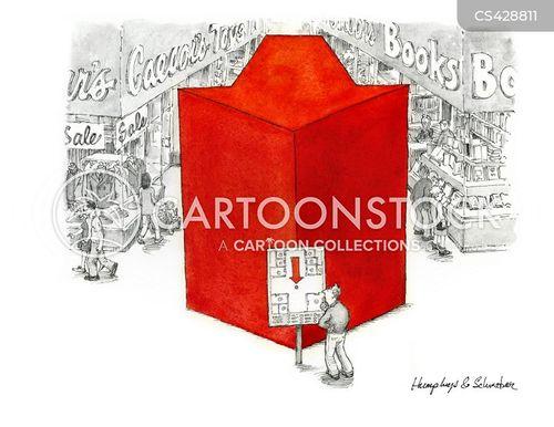 store directories cartoon