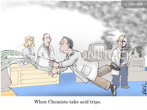 acid trip cartoon