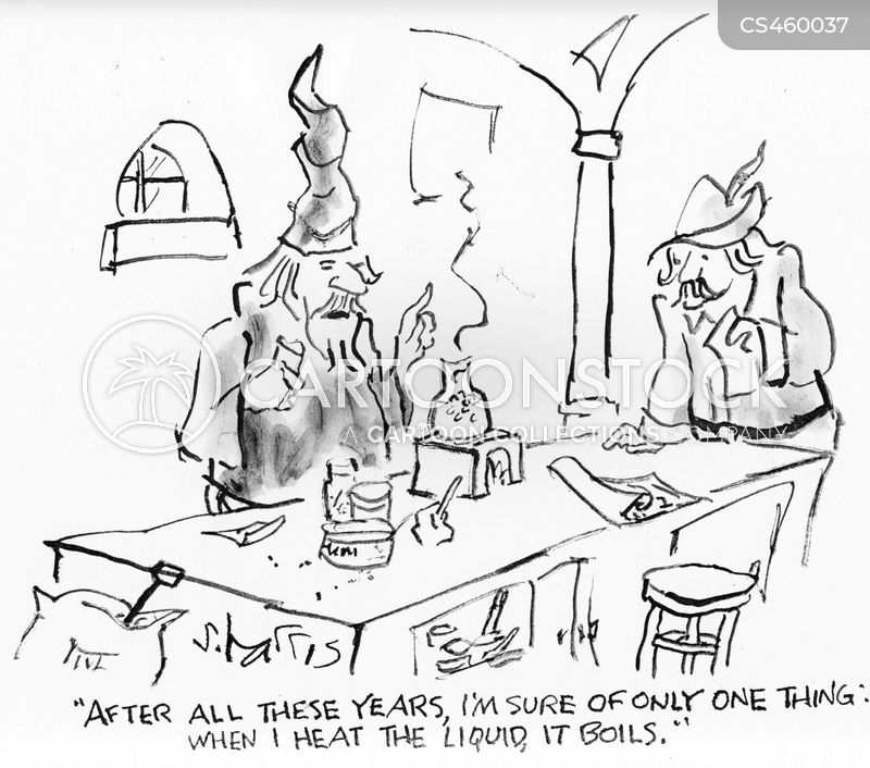 alchemists cartoon