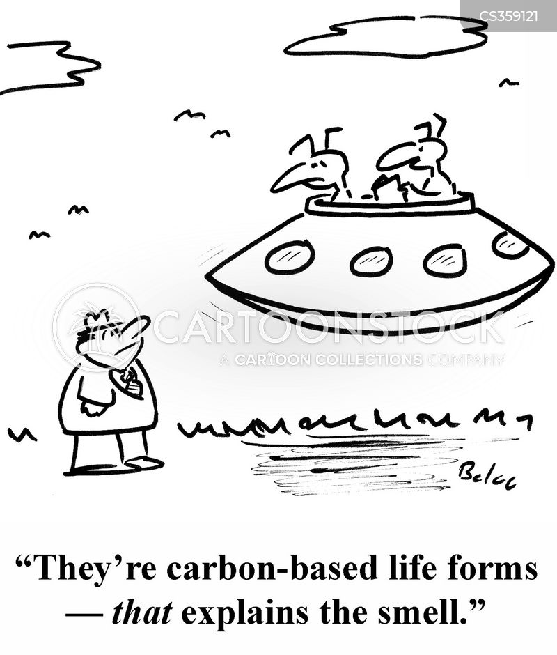 carbon based cartoon