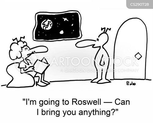 roswell cartoon