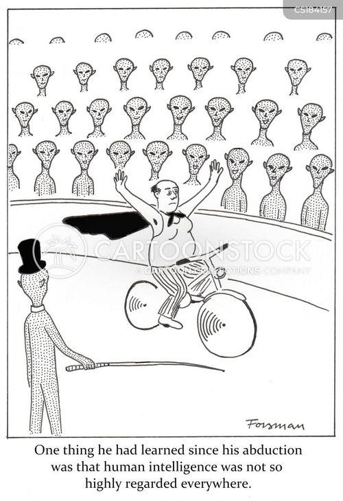 alien abductions cartoon