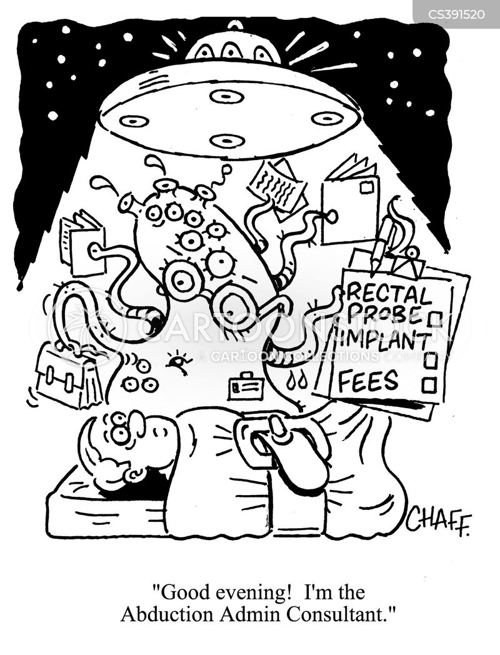 Ufos Cartoons And Comics