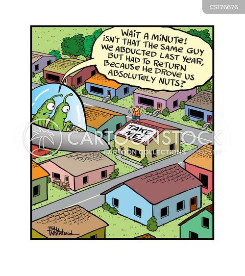 abduction cartoon