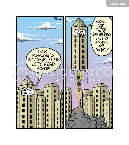 city buildings cartoon