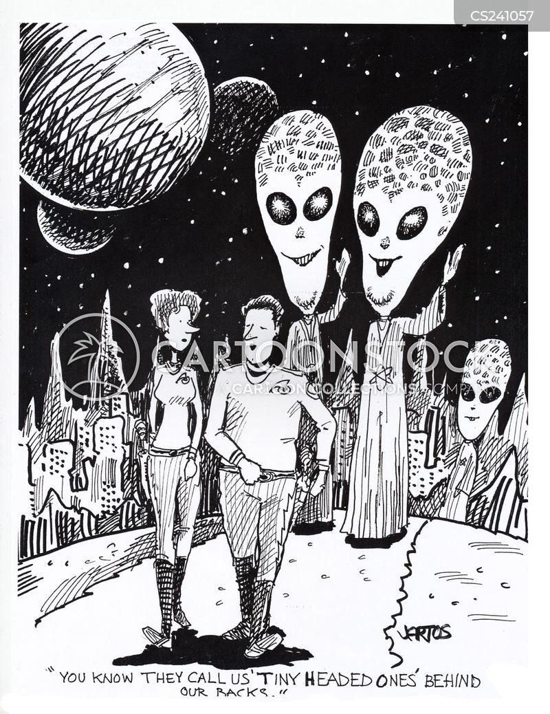 alien lives cartoon