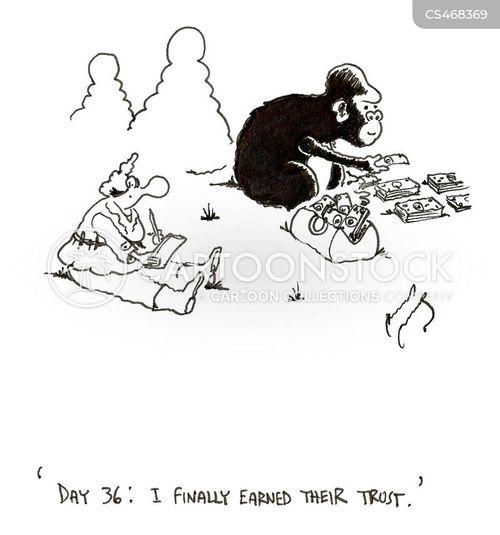 animal studies cartoon