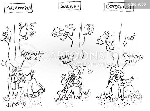 natural science cartoon